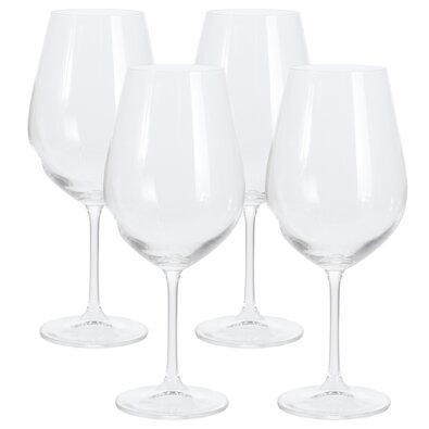 4dílná sada sklenic na víno, 850 ml