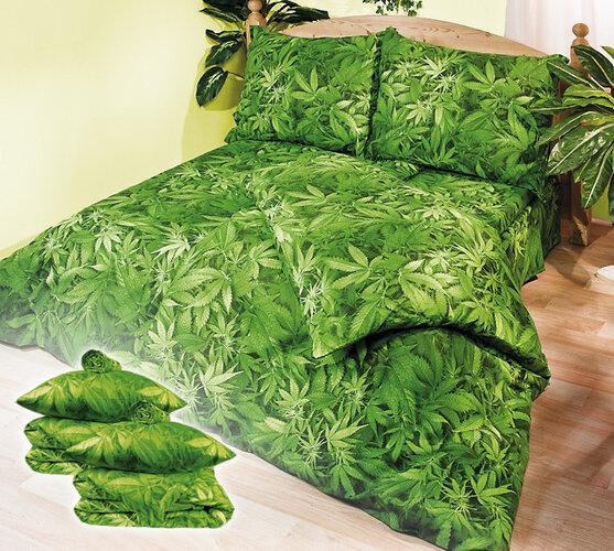 4Home bavlnené obliečky Aromatica s prestieradly, 140 x 200 cm, 70 x 90 cm