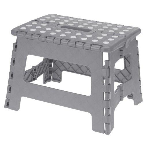 Koopman Skládací stolička šedá, 29 x 22 cm