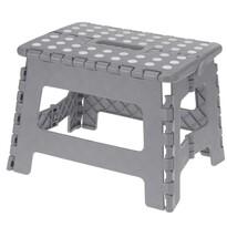 Skládací stolička šedá, 29 x 22 cm