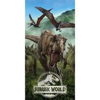 Jurassic World Forest törölköző, 70 x 140 cm