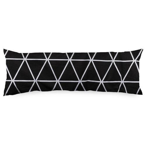 4Home Povlak na Relaxační polštář Náhradní manžel  Galaxy černobílá , 45 x 120 cm