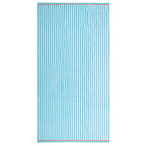 Ręcznik plażowy Fresh Feeling turkusowy, 90 x 170 cm