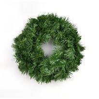 Zöld műkoszorú, 25 cm