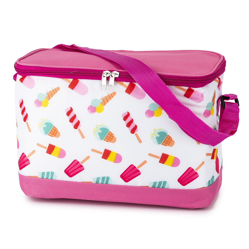 Chladící taška Cooler růžová, 30 x 21 x 16 cm