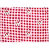 Country tányéralátét piros kockás, 33 x 45 cm