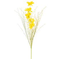 Umelé lúčne kvetiny 50 cm, žltá