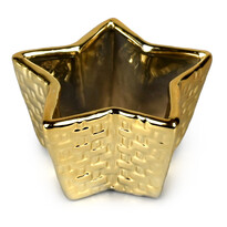 Keramická dekorační miska Hvězda, 9 cm