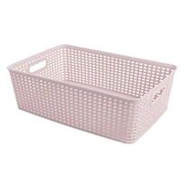 Košík RATTAN CLASSIC 12 l, růžová