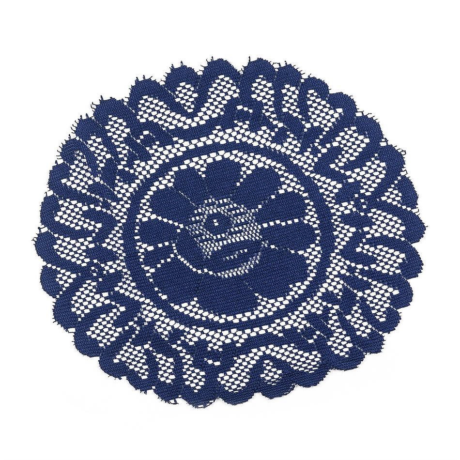 Zľava  Dekoračná podložka modrá