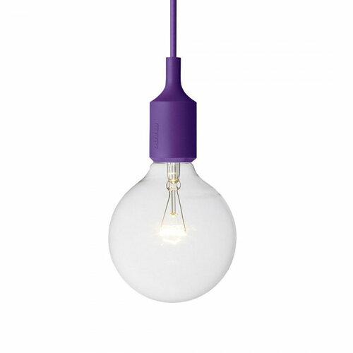 Závesné svietidlo E27, fialové