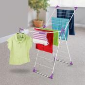 Sušák na prádlo WONDERFOLD, fialová