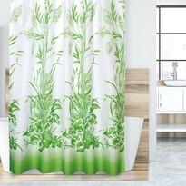 Fű zuhanyfüggöny, zöld, 180 x 200 cm