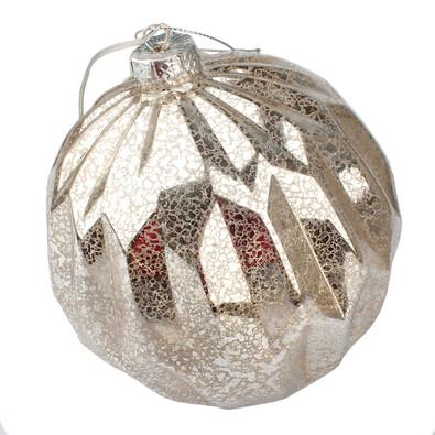 Lucera karácsonyi világító dísz, ezüst