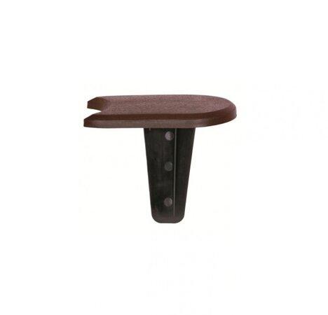 Kerti paliszád barna, 382,7 cm