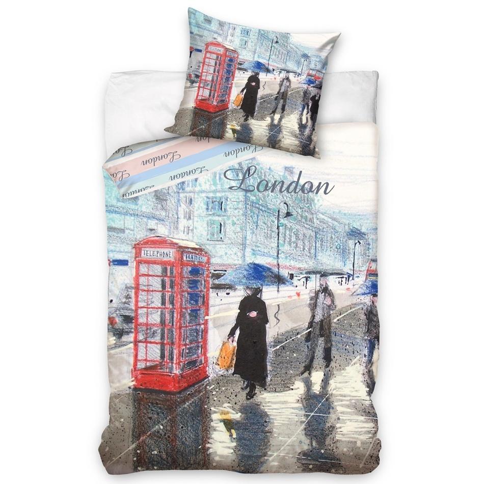 Carbotex Povlečení Londýn - London Street bavlna