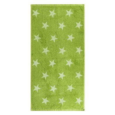 Uterák Stars zelená, 50 x 100 cm