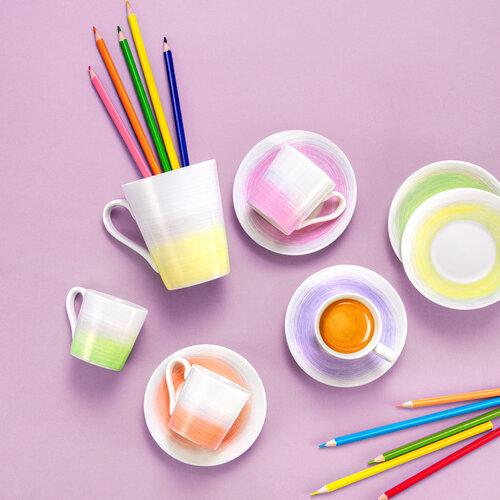 Tescoma Hrnček myCOFFEE Pastels, 4 ks