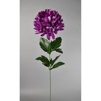 Umělá květina Chrysantéma 50 cm, fialová