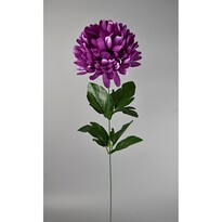 Umelá kvetina Chryzantéma 50 cm, fialová