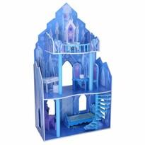Ecotoys Domček pre bábiky Disney zámok Ľadové kráľovstvo, 110 x 62 x 29 cm