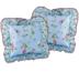 Povlaky na polštářky Lilly, 40 x 40 cm, sada 2 ks, světle modrá, 40 x 40 cm