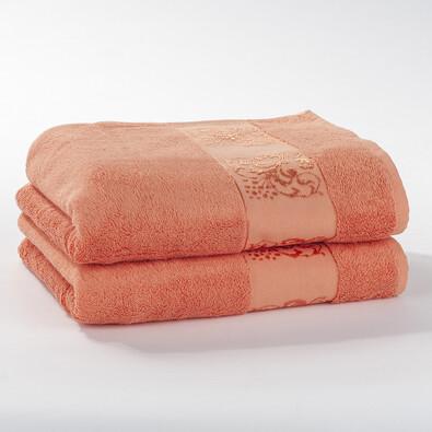 Bambusové ručníky, oranžová