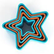 Zenker 5dílná sada vykrajovátek Hvězdy