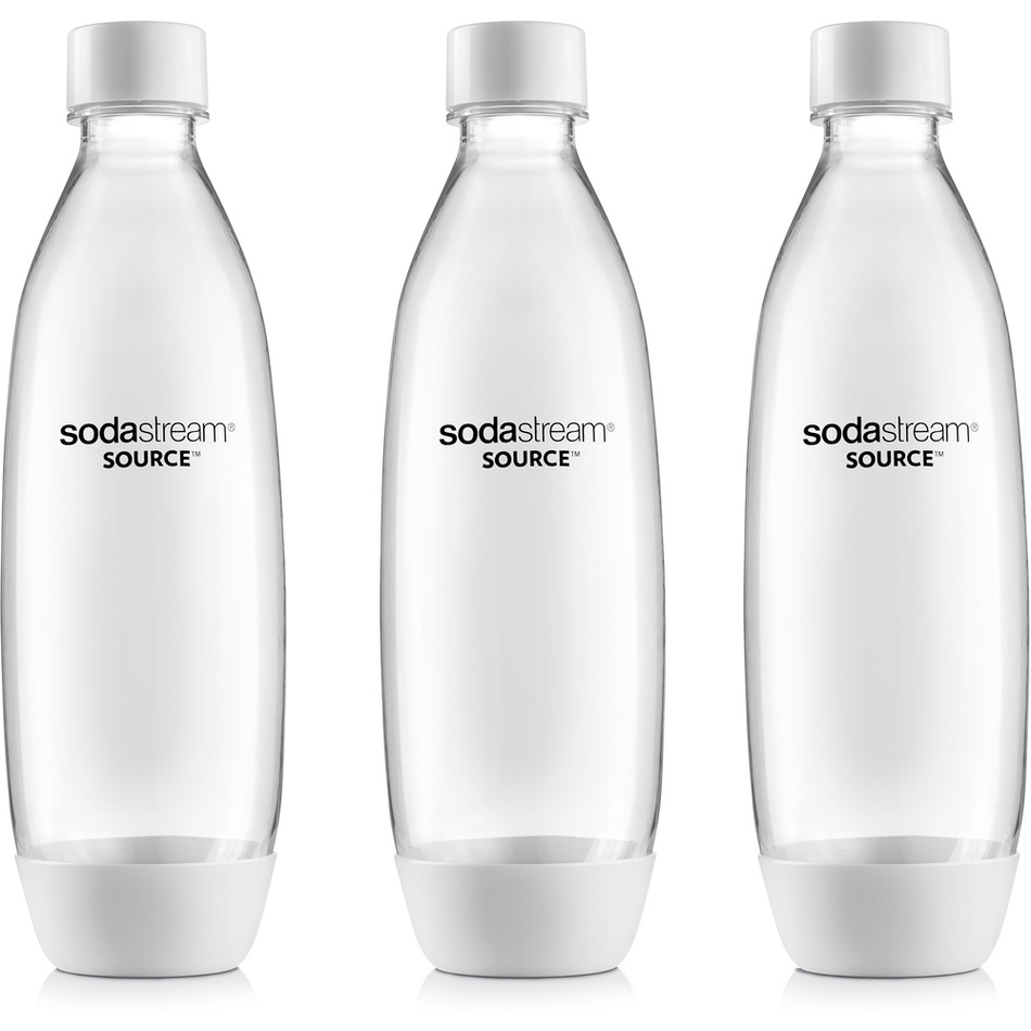 SODASTREAM Lahev SOURCEPLAY 3Pack 1l bílá