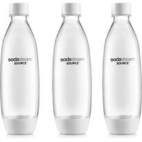SodaStream Láhev Fuse 3Pack 1 l, bílá