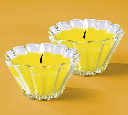 Vonné svíčky citronella