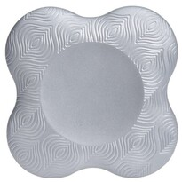 XQ Max Podložka na jógu Yoga Pad 20 x 20 cm, stříbrná