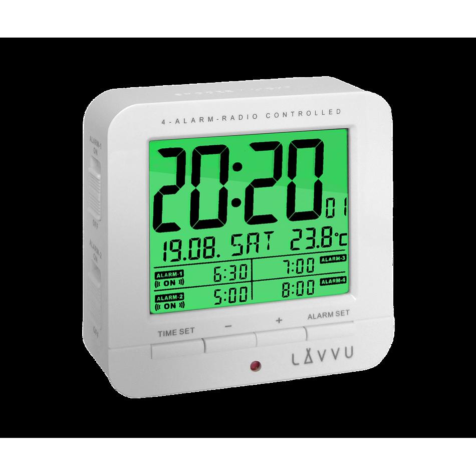 LAR0010 Digitální budík LAVVU White Cube
