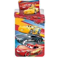 Cars red 03 pamut ágynemű, 140 x 200 cm, 70 x 90 cm