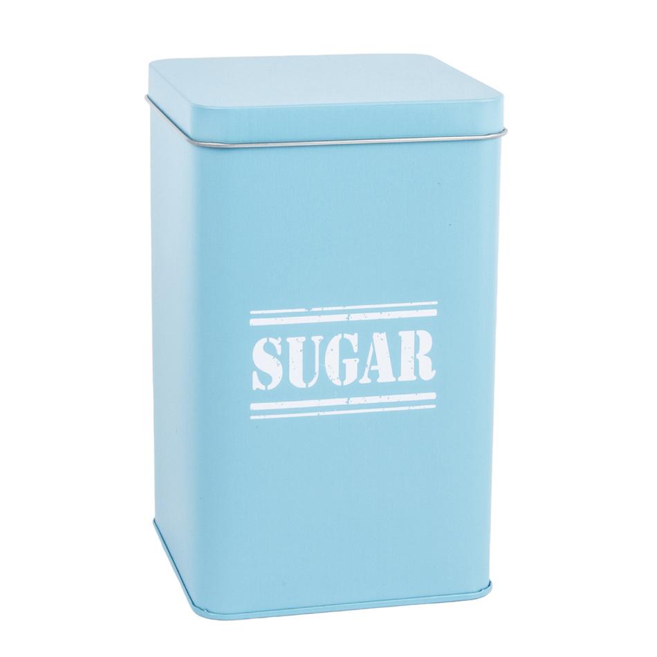 Plechová dóza Sugar, sv. modrá