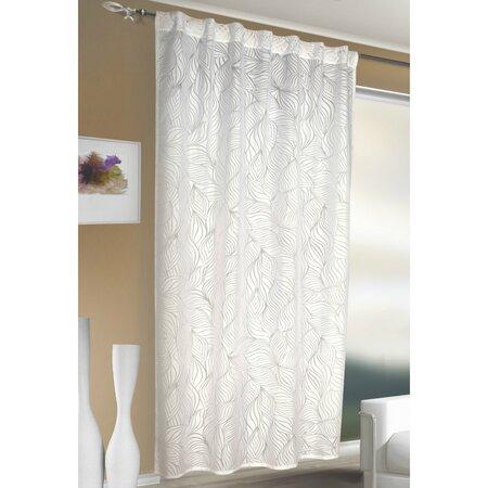 Brian függöny rejtett pántokkal fehér, 140 x 245 cm