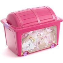 KIS W Box Toy Princess dekor tárolódoboz, 50 l