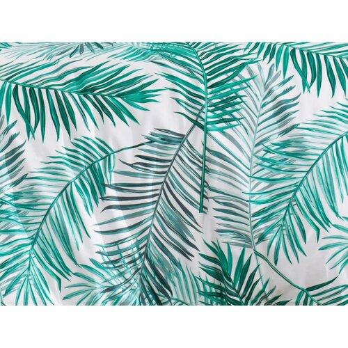 Bavlněné povlečení Palms Green, 220 x 200 cm, 2 ks 70 x 90 cm