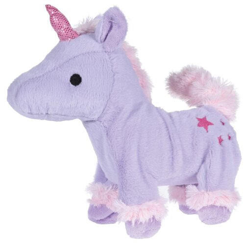 Walking unicorn plüss játék, 30 cm