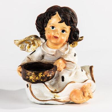 Andělíček z polyresinu
