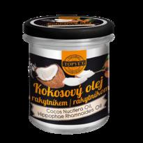 Topvet kokosový olej s rakytníkom