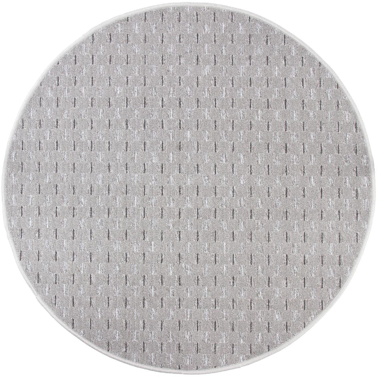 Vopi Kusový koberec Valencia šedá, 100 cm