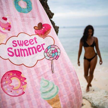 Holčičí plážová osuška Towee SWEET SUMMER s funkčními vlastnostmi