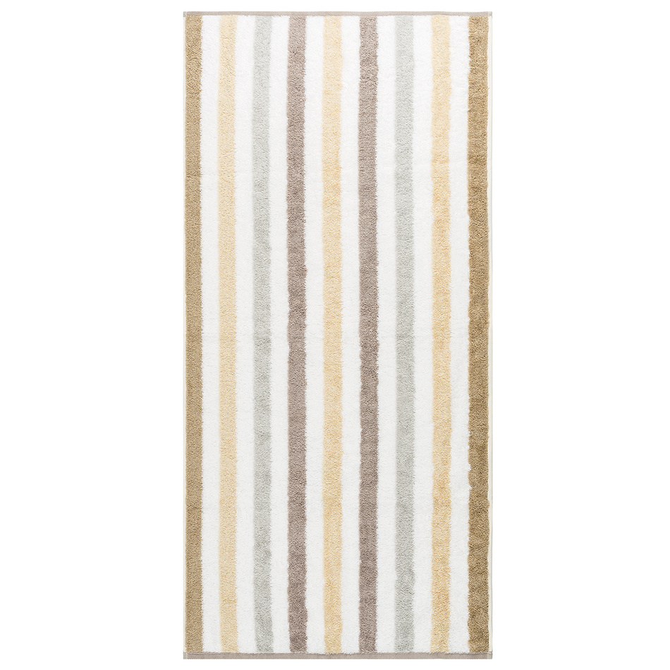 Cawo Frottier osuška Stripe natural, 70 x 140 cm