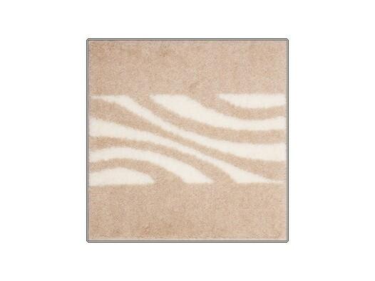 Koupelnová předložka Grund THUNI, béžová, 55 x 55 cm
