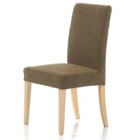 Multielastický potah na židli Petra gold, 40 - 50 cm, sada 2 ks