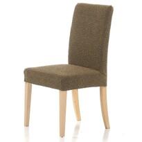 Multielastyczny pokrowiec na krzesło Petra gold, 40 - 50 cm, zestaw 2 szt.