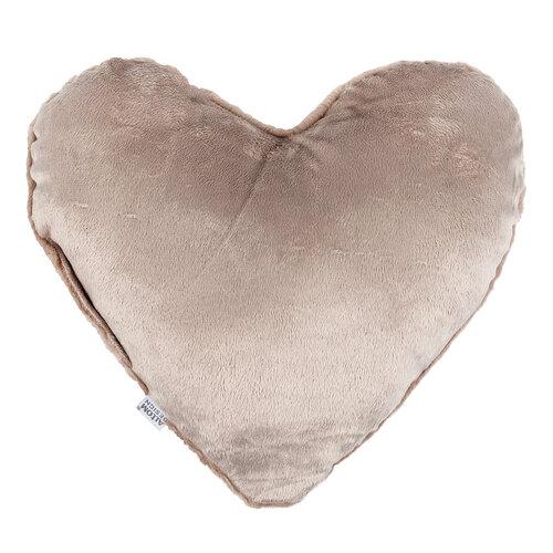 Altom Szív párna, rózsaszín, 40 x 40 cm