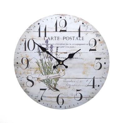 Zegar ścienny Lawenda HLC11047