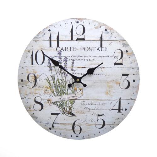 Nástenné hodiny Levanduľa HLC11047